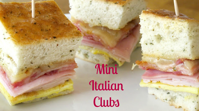 Mini Italian Clubs by Diary of a Recipe Collector