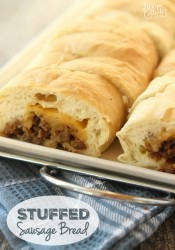 Stuffed Sausage Bread