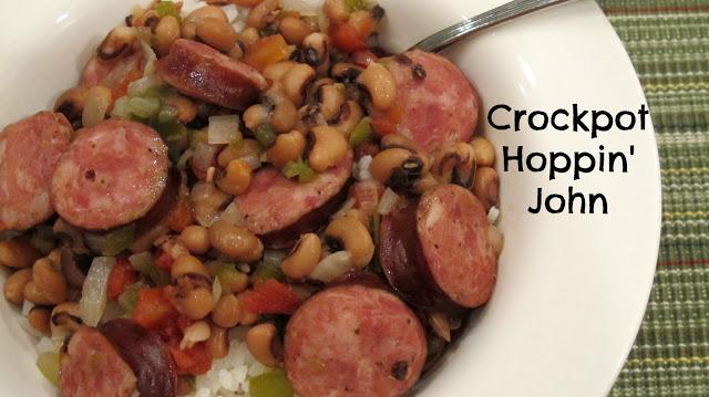 Crockpot Hoppin John