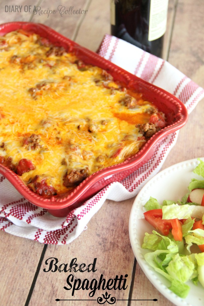 Baked Spaghetti - It is spaghetti that goes one extra step, and it is so worth it!