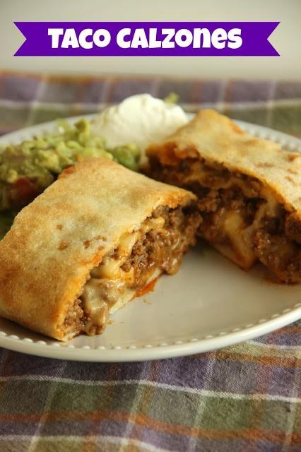 Taco Calzones
