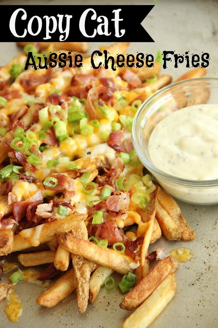 Aussie Cheese Fries