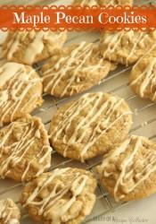 Maple Pecan Cookies