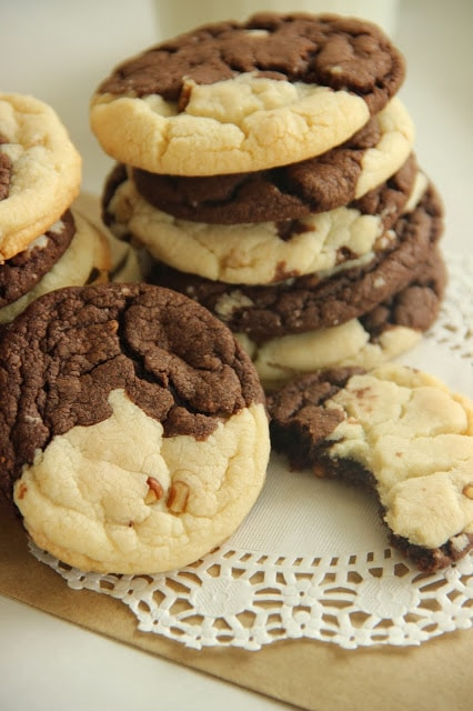 Harvest Cake Mix Cookies