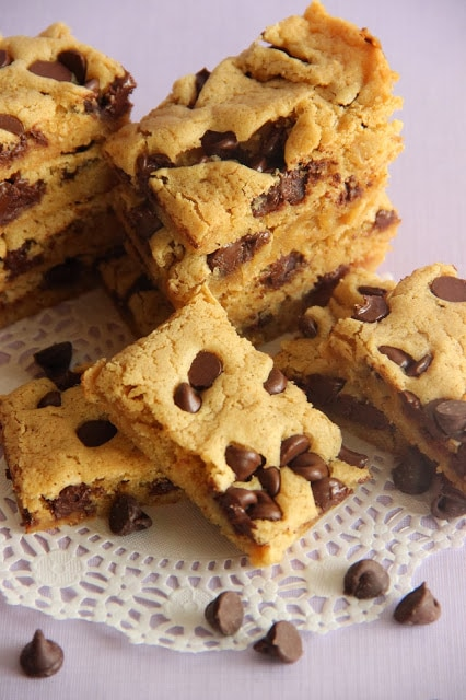 Gooey Brown Sugar Cookie Bars