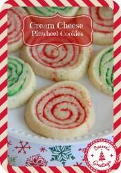 Cream Cheese Christmas Pinwheel Cookies