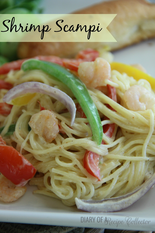 copycat olive garden chicken scampi diary of a recipe collector - Olive Garden Shrimp Scampi