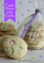 Easter Potato Chip Cookies