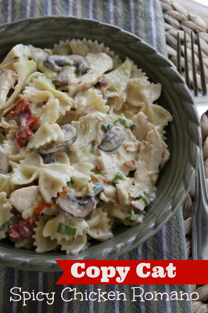 Copycat Spicy Chicken Romano
