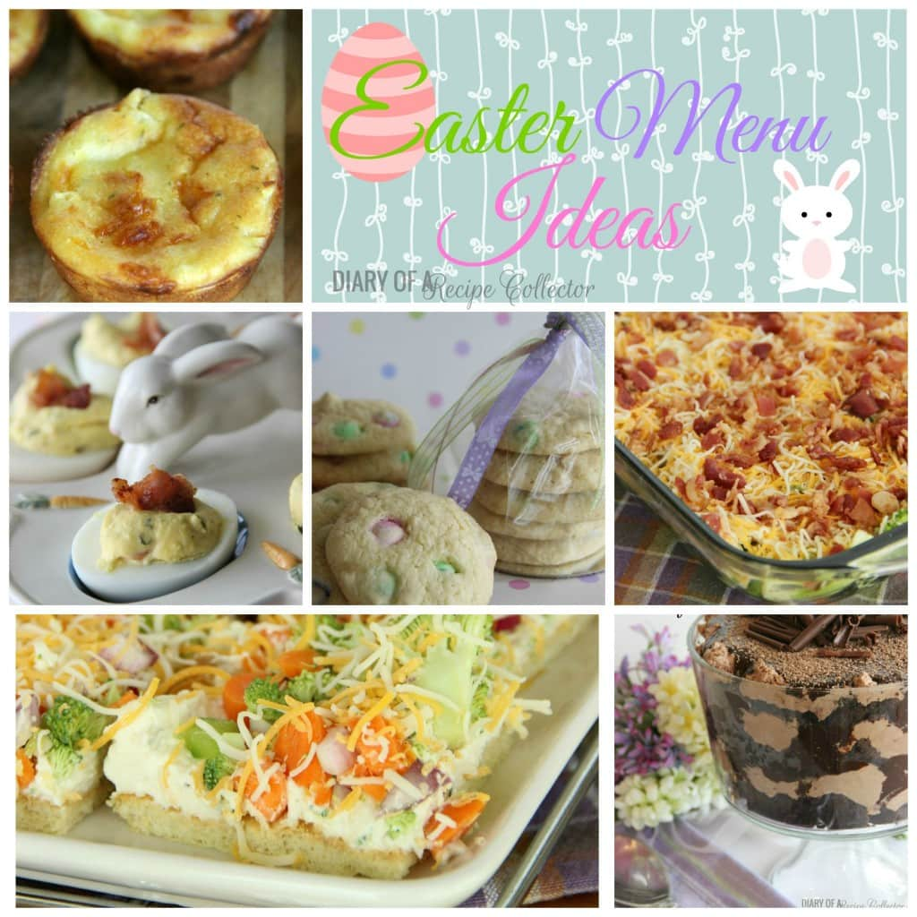 Easter Menu Ideas-Diary of a Recipe Collector