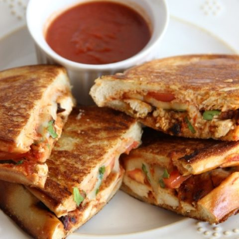 Chicken Caprese Paninis - Diary of a Recipe Collector