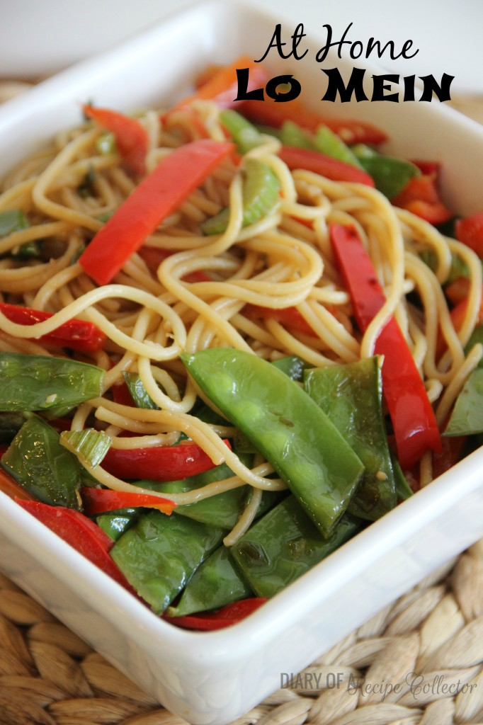 At Home Lo Mein
