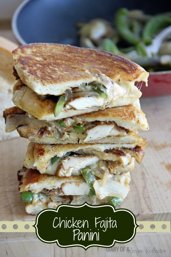 Chicken Fajita Panini