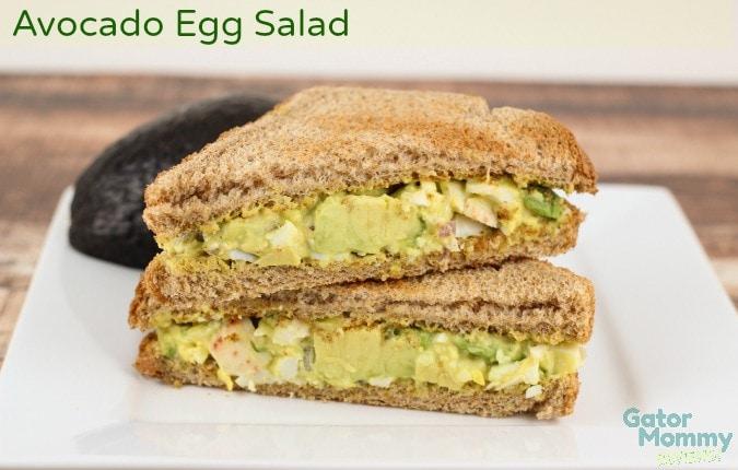 Avocado Egg Salad by Gator Mommy
