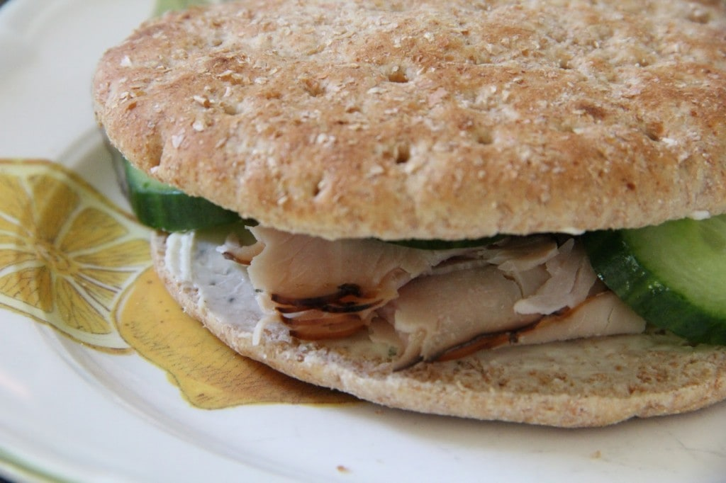 Cucumber Turkey Sandwich by Mix and Match Mama