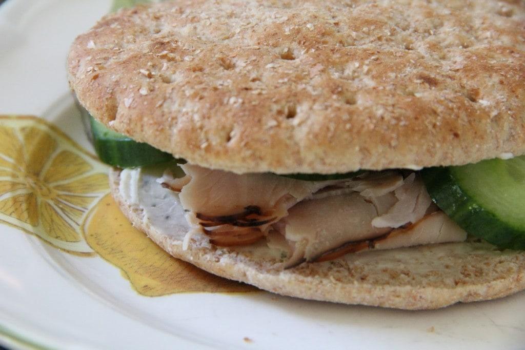 Cucumber Turkey Sandwich by Mix and Match Mama