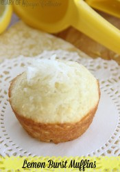 Lemon Burst Muffins