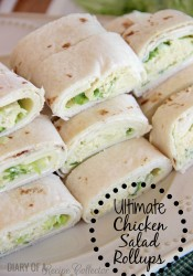 Ultimate Chicken Salad Pinwheels