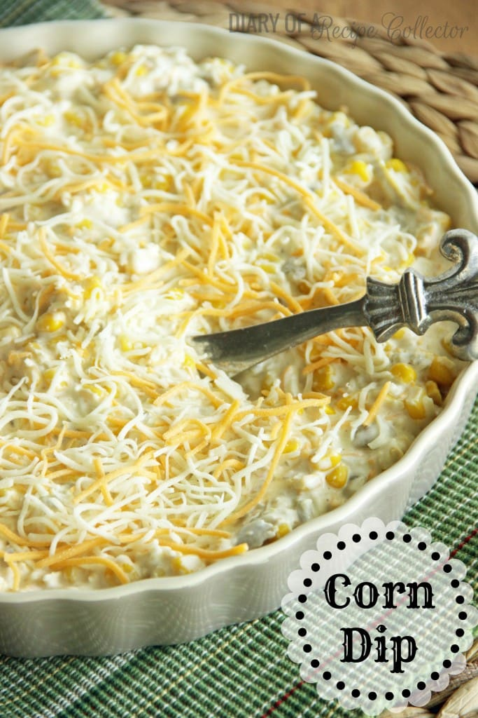 Corn Dip Diary of a Recipe Collector