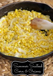 Summer Sauteed Corn and Onions