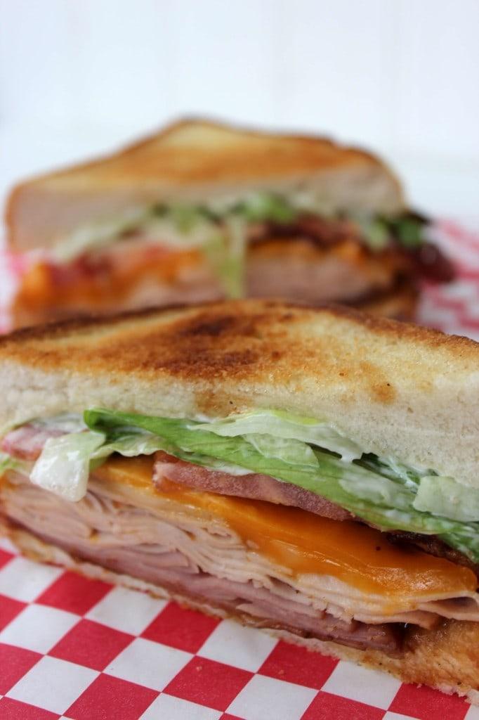 Applebee's Clubhouse Grill Sandwich by Baking Beauty