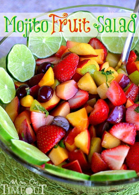 mojito-fruit-salad-recipe Mom on Timeout