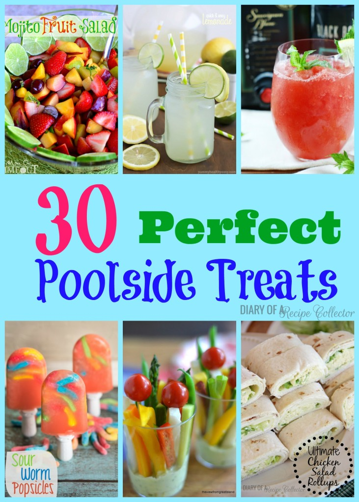 30 Perfect Poolside Treats