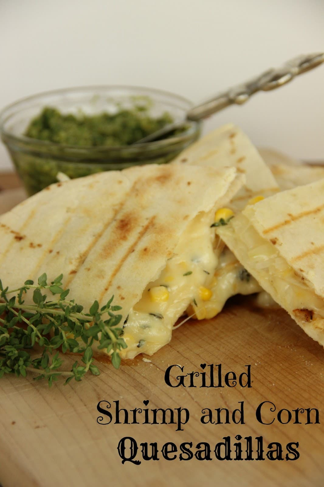 Shrimp And Bacon Quesadillas Diary Of A Recipe Collector
