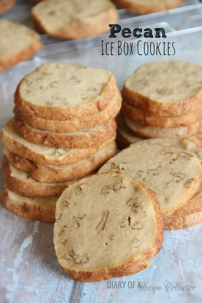 Cinnamon Pecan Icebox Cookies