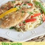 Copycat Olive Garden Chicken Scampi
