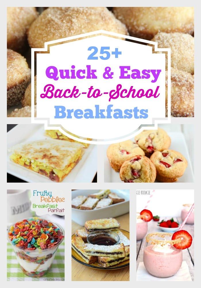 Back to School Breakfasts for Raising Reagan