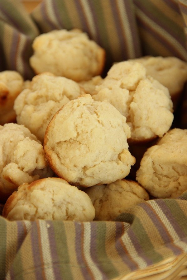 Sour Cream Butter Biscuits - Diary of A Recipe Collector