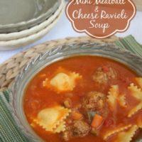 Mini Meatball & Ravioli Soup