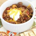 Slow Cooker Chili | Diary of a Recipe Collector