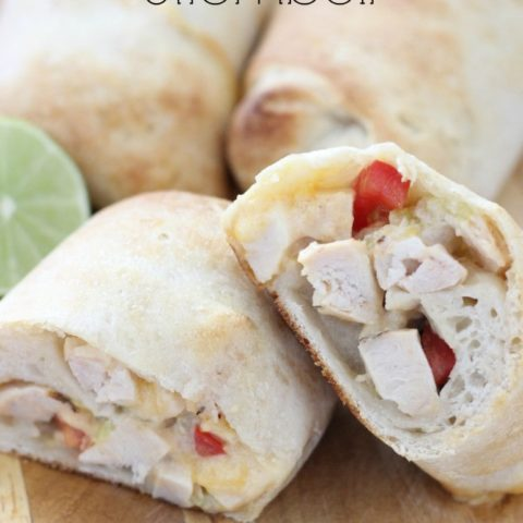 Chicken Enchilada Stromboli