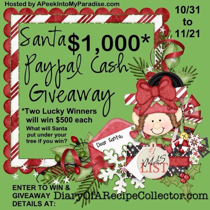 Santa Paypal Giveaway