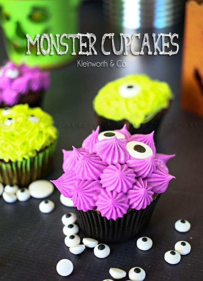 Monster_cupcakes_Kleinworthandco