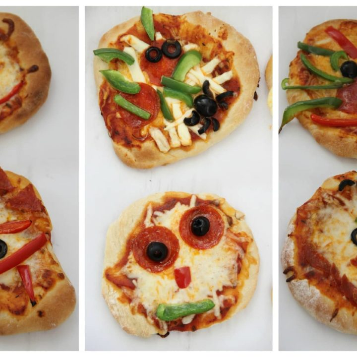 Creepy Mini Pizzas with Fleischmann's Yeast