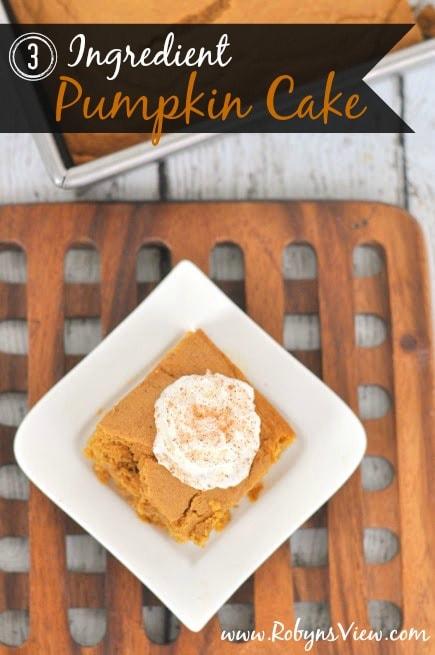 3-Ingredient-Pumpkin-Cake