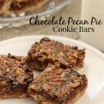 Chocolate Pecan Pie Cookie Bars | Diary of a Recipe Collector