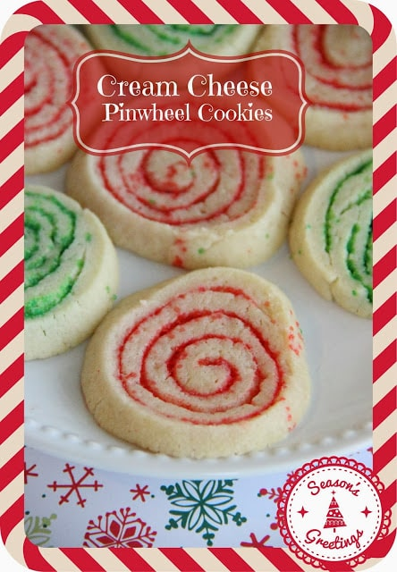 Cream Cheese PInwheel Cookies