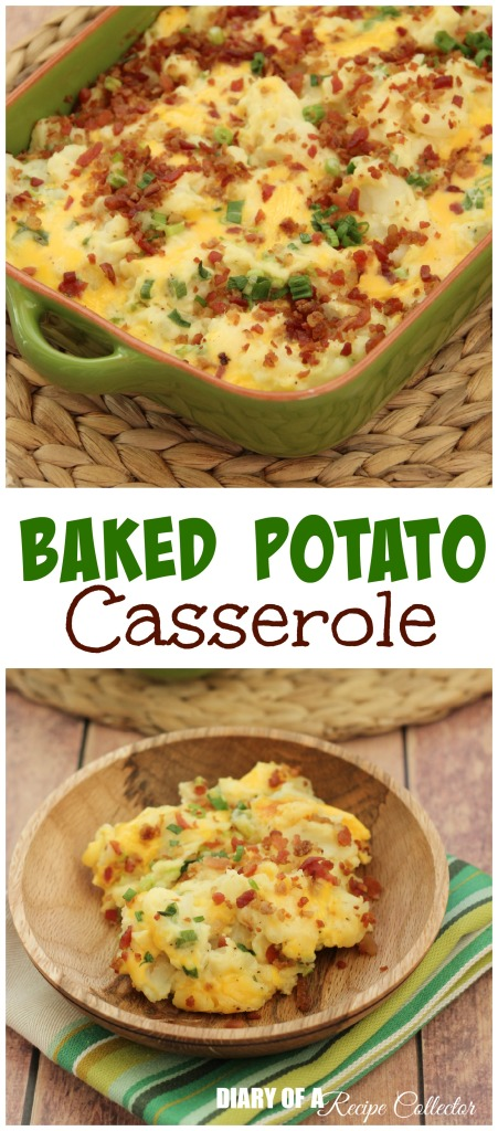 Baked Potato Casserole | Diary of a Recipe Collector