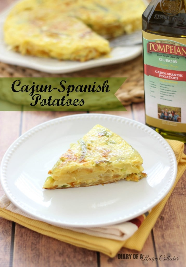 Cajun-Spanish Potatoes | Diary of a Recipe Collector