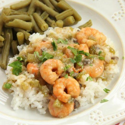 Shrimp Etoufee |Diary of a Recipe Collector
