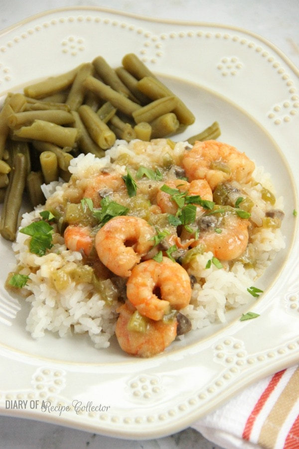 Shrimp Etoufee |Diary of a Recipe Collector