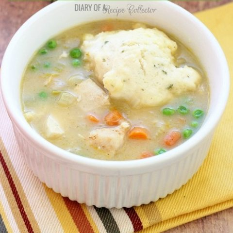 Easy Weeknight Chicken & Dumplins   Diary of a Recipe Collector
