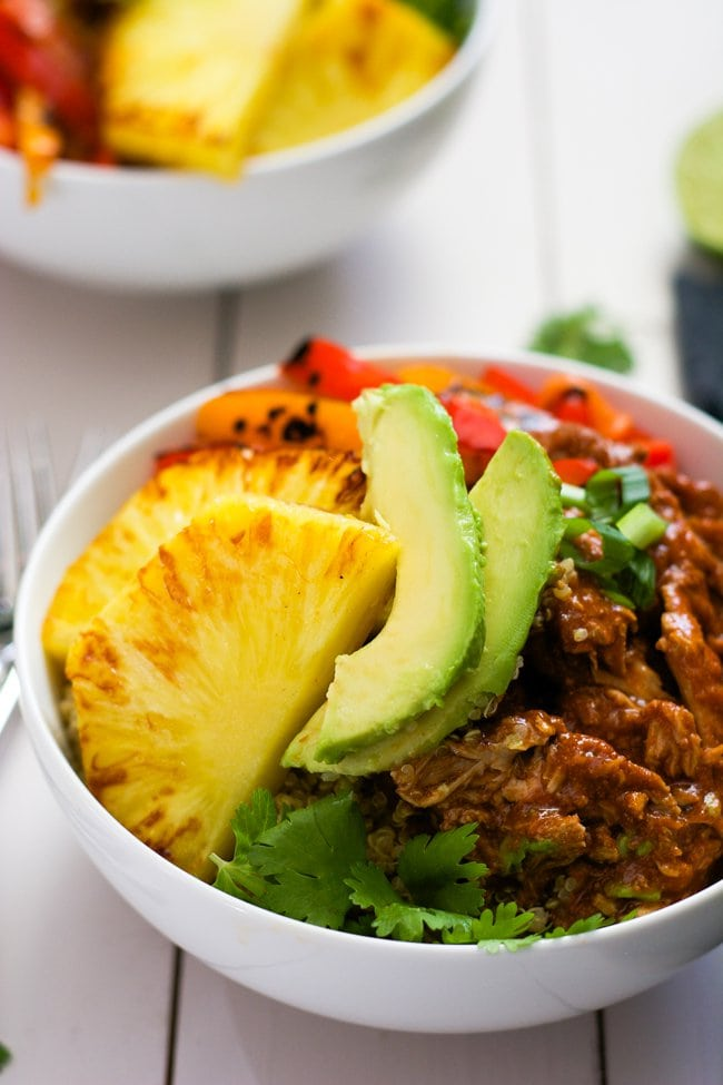 Slow-Cooker-Hawaiian-Pork-Burrito-Bowls-6