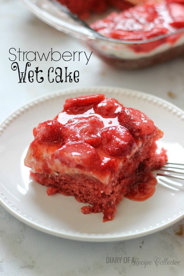 strawberry jello cake strawberry cake diary of a recipe collector 7755