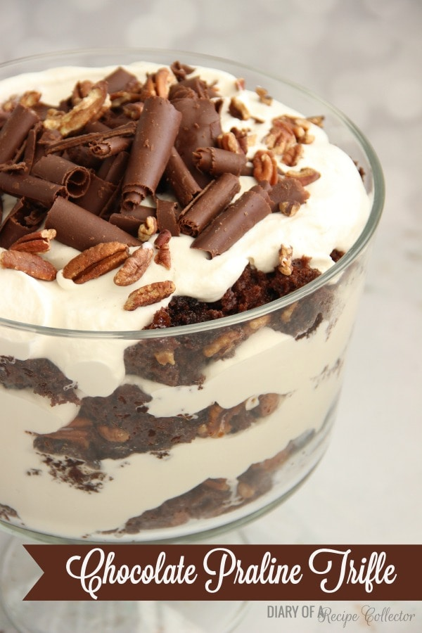 Chocolate Praline Trifle