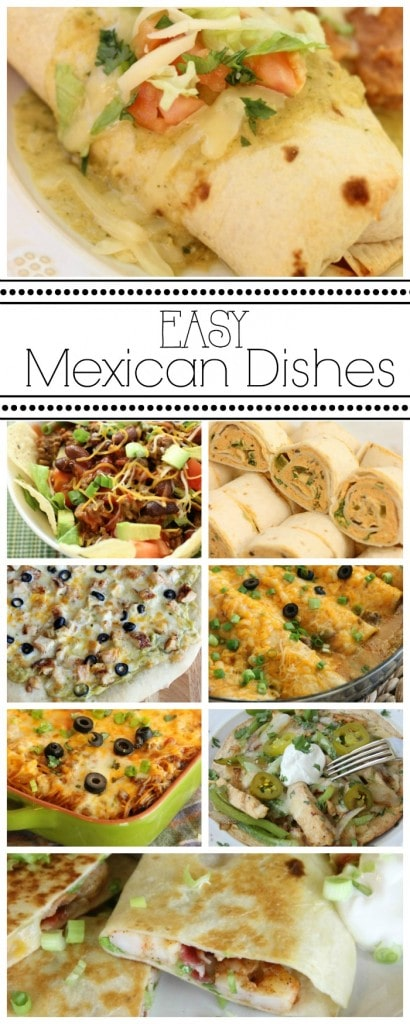 Easy Mexican Dishes